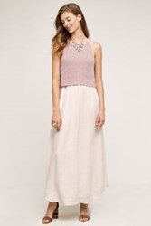 Moth Renata Maxi Dress Medium Pink