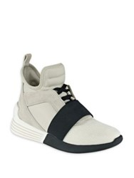 Kendall Kylie Braydin High Top Sneakers Blue