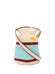 Rosie Assoulin Block Colour Woven Shoulder Bag 60