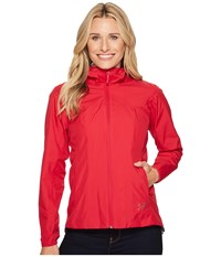 Arc'teryx Solano Jacket Ixora Coat Red