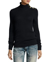 Ralph Lauren Cashmere Turtleneck Sweater Navy