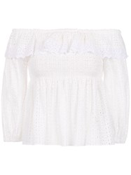 Spacenk Nk Lace Top White