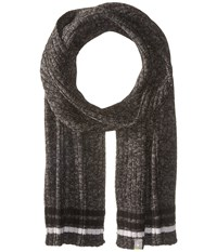 Smartwool Thunder Creek Scarf Charcoal Heather Scarves Gray
