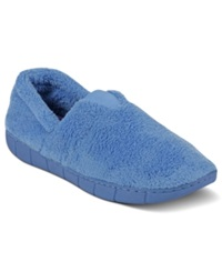 Muk Luks Fleece Espadrille Slippers Women's Shoes Blue Eyes