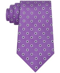 Club Room Men's Margarita Neat Tie Only At Macy's Lilac