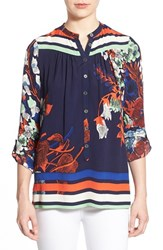 Women's Plenty By Tracy Reese Floral Print Tunic Mykonos Floral