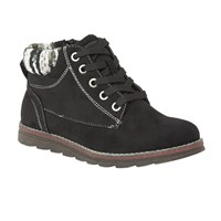 Lotus Sequoia Lace Up Ankle Boots Black