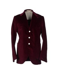 Haver Sack Jackets Maroon