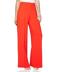 Bcbgmaxazria Chris Wide Leg Pants Bright Red