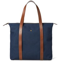 Mismo Large Shuttle Tote Blue
