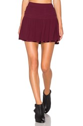 Baandsh Hello Skirt Wine