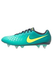 Nike Performance Magista Opus Ii Sgpro Football Boots Rio Teal Volt Obsidian Clear Jade Hyper Turquoise Mint