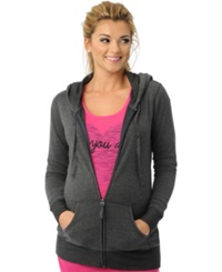 Motherhood Maternity French Terry Zip Front Hoodie