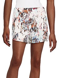 French Connection Isla Ripple Printed Shorts Day Dream