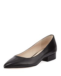 Cole Haan Vesta Grand Leather Skimmer Flats Black