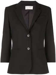 The Row Classic Single Breasted Blazer Black