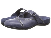 Vionic With Orthaheel Technology Maisie Mary Jane Mule Navy Women's Clog Shoes