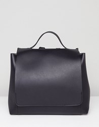 Asos Design Large Minimal Backpack Black