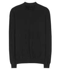 Rick Owens Drkshdw Cotton Sweatshirt Black