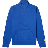 Carhartt Wip Chase Neck Zip Sweat Blue