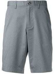 Michael Kors Collection Tailored Chino Shorts Grey