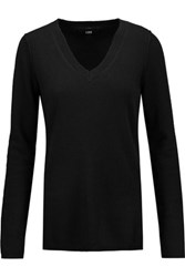 Line Cashmere Sweater Black