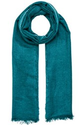 Ann Demeulemeester Cashmere Scarf In Blue