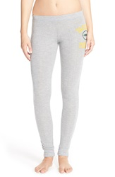Junk Food 'Packers Football' Lounge Pants Dove Heather Grey Packers