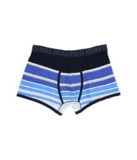 Kenneth Cole Reaction Trunk Blue Shades Rugby Men's Underwear Multi
