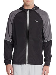 Fila Elemental Hooded Jacket Black