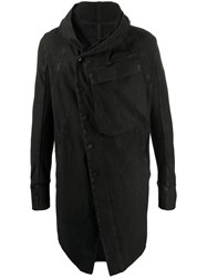 Masnada Off Centre Buttoned Coat 60