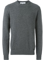 Salvatore Ferragamo Crew Neck Jumper Grey