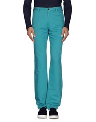 Armani Collezioni Denim Denim Trousers Men Turquoise