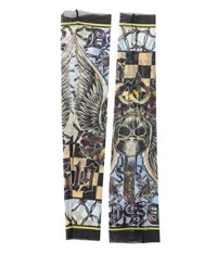 Dsquared Tattoo Sleeves Multicolor Cycling Gloves