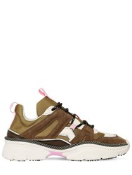 Isabel Marant 30Mm Kindsay Suede And Nylon Sneakers Array 0X57515a8