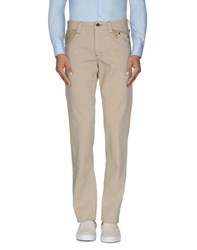 Carlo Chionna Trousers Casual Trousers Men Beige