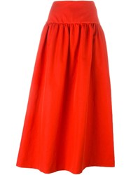 Sonia Rykiel Flared Long Skirt