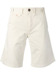Barbour Neuston Twill Shorts Nude And Neutrals