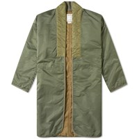 Visvim Attus Coat Green