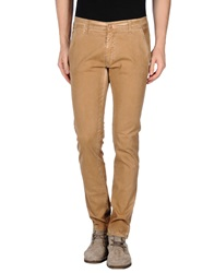 Minimal Casual Pants Brown