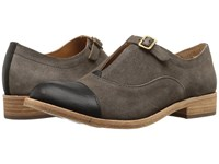 Kork Ease Niseda Taupe Black Dark Grey Combo Women's Hook And Loop Shoes