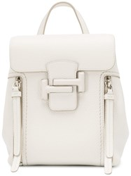 Tod's Classic Backpack White