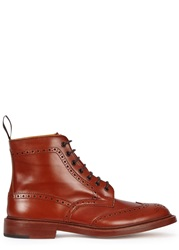 Tricker's Stow Antique Brown Brogue Boots
