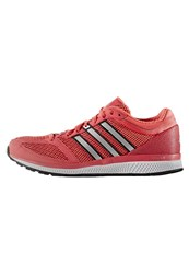 Adidas Performance Mana Rc Bounce Neutral Running Shoes Shock Red Iron Metallic Core Black Coral