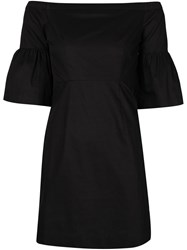 Piamita Off Shoulder Dress Black