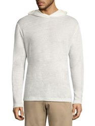 Theory Colton Zephyr Hoodie Soft White