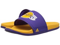 Adidas Adilette La Lakers Regal Purple Gold Men's Sandals