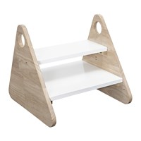 Bloomingville White Rubberwood Children's Stool