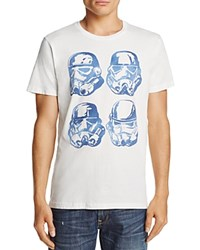 Junk Food Four Storm Trooper Crewneck Short Sleeve Tee White