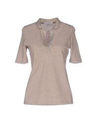 La Fileria Topwear Polo Shirts Women Dove Grey